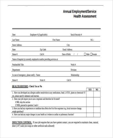 employe evaluation form