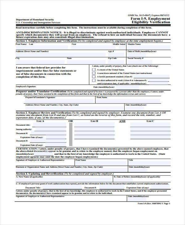 employment eligibility verification form2