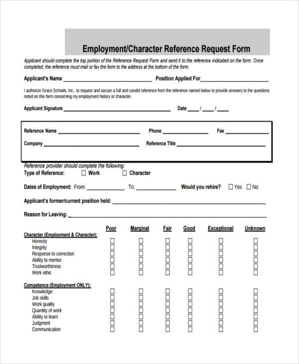 Free Employment Form Samples - 35+ Free Documents in Word, PDF