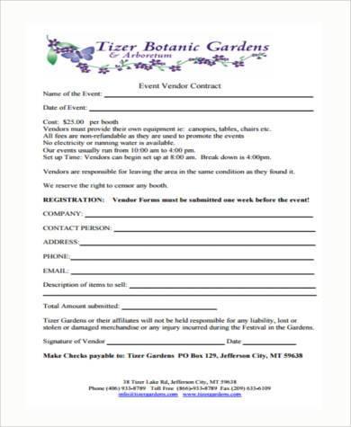 Sample Vendor Registration Forms - 7+ Free Documents in Word, PDF