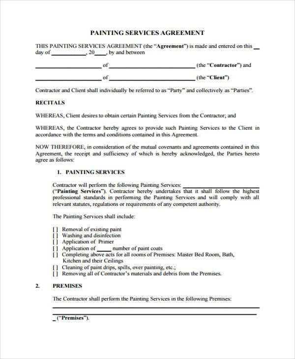 Professional Services Agreement Template Contract Service