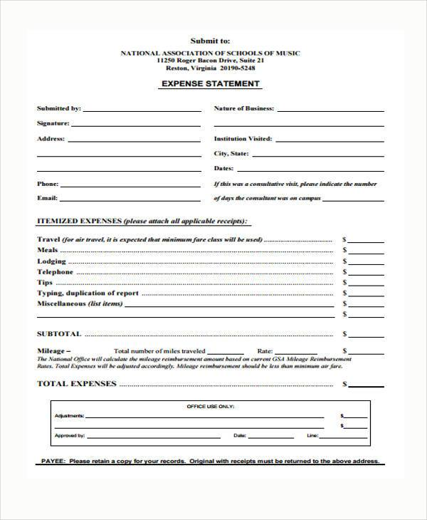Sample Personal Statement Forms - 7+ Free Documents In Word