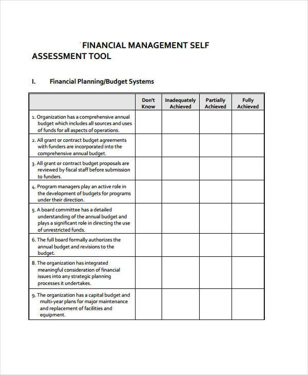 financial planning assessment form1