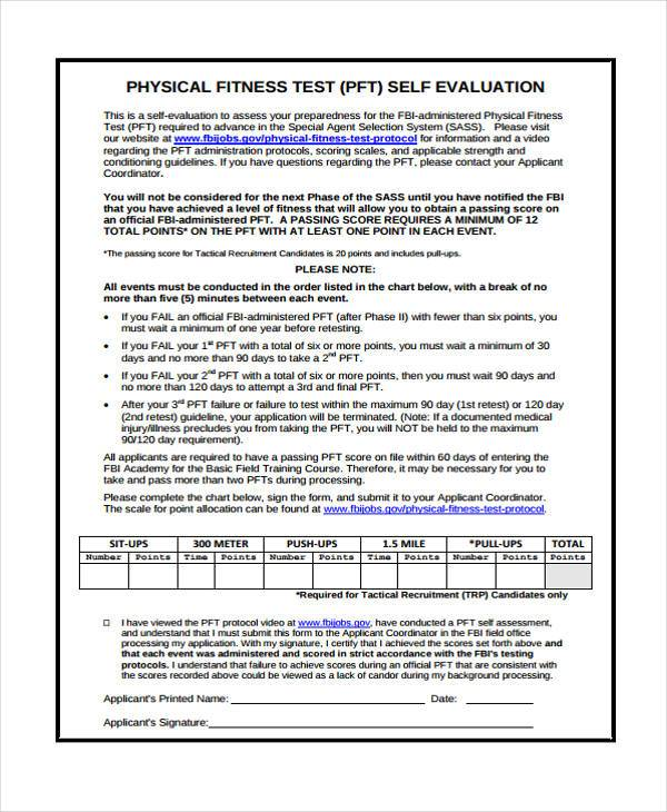fitness assessment results document essay We strive to protect individuals from ineffective fitness products learn more information with our research and case studies at ace today.