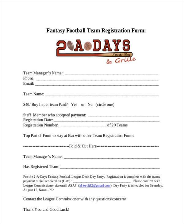 football team registration form1