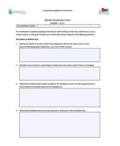 free marketing assessment form
