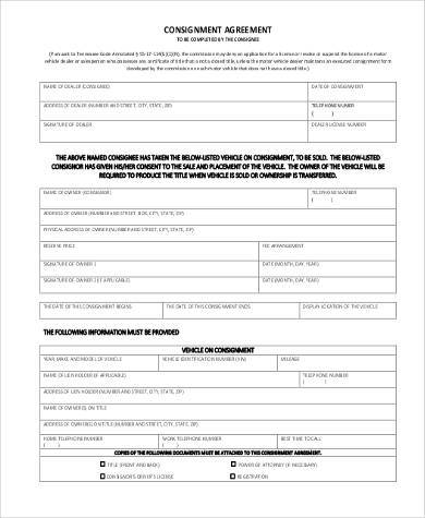 Simple Agreement Forms   Free Documents In Word Pdf