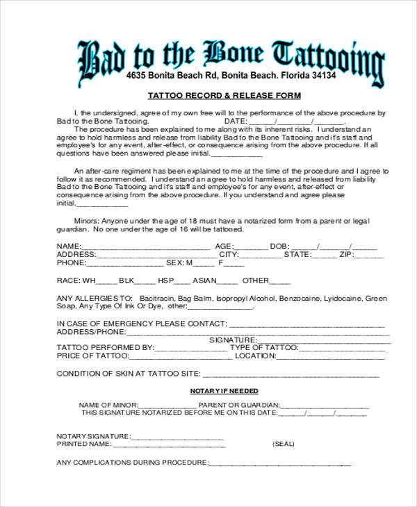 Legal Liability Waiver Form Printable Sample Liability Form Form