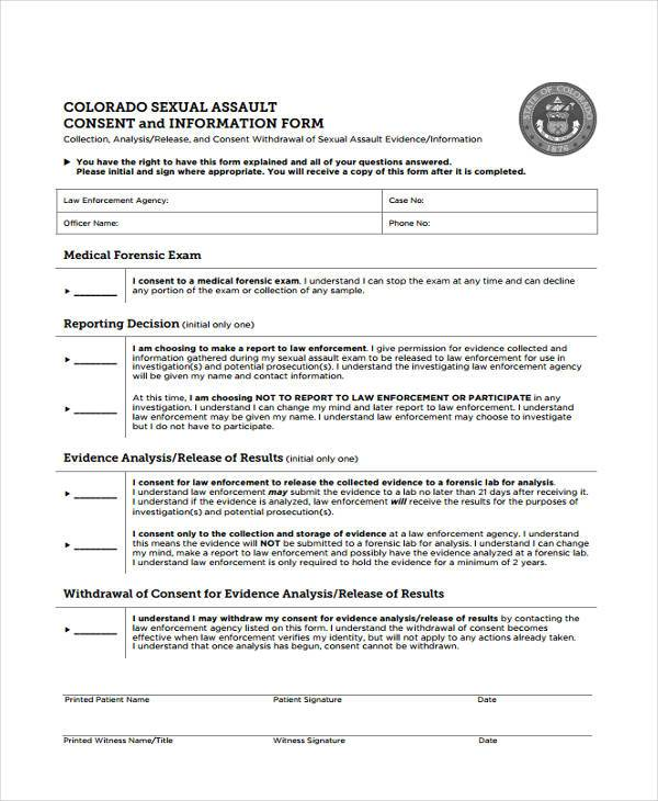generic sexual consent form