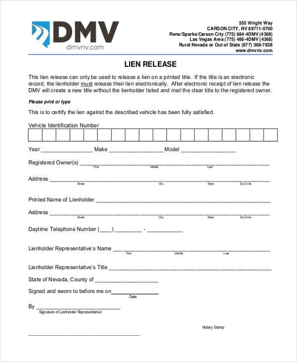 Dmv Release Form Dmv Transfer And Release Of Liability Form Dmv