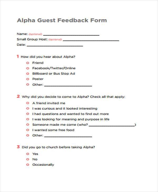 guest feedback form in pdf