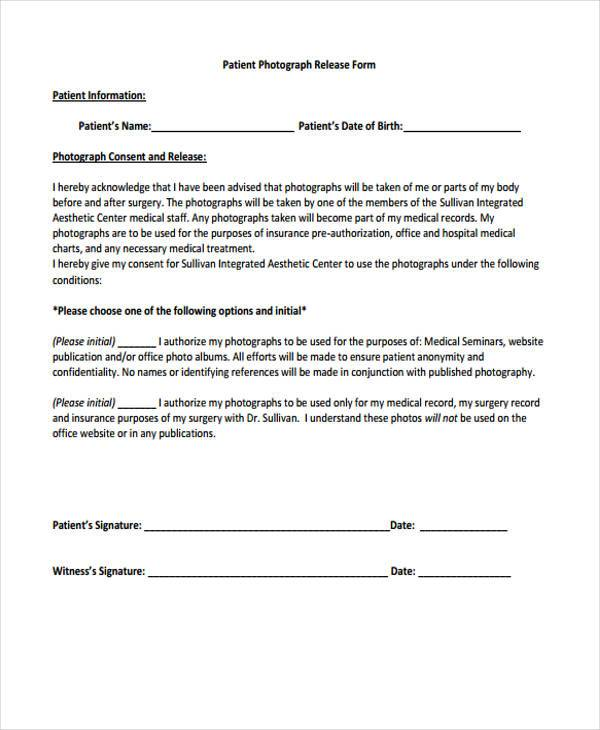 9+ Hospital Release Form Samples - Free Sample, Example Format
