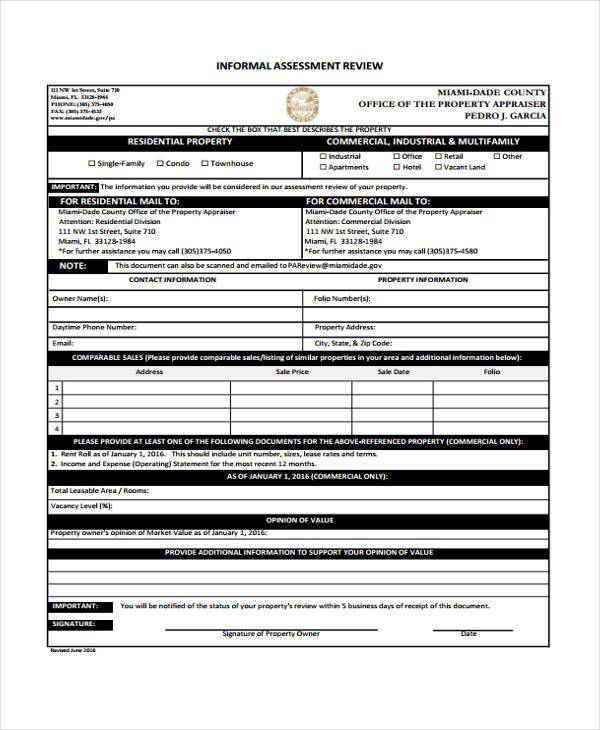 27+ Sample Assessment Form Examples - Free Example, Sample Format