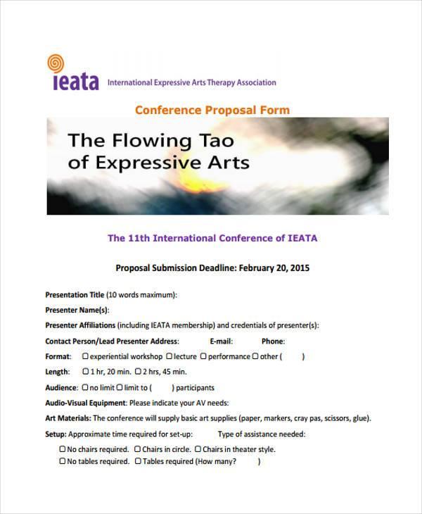 international conference proposal form