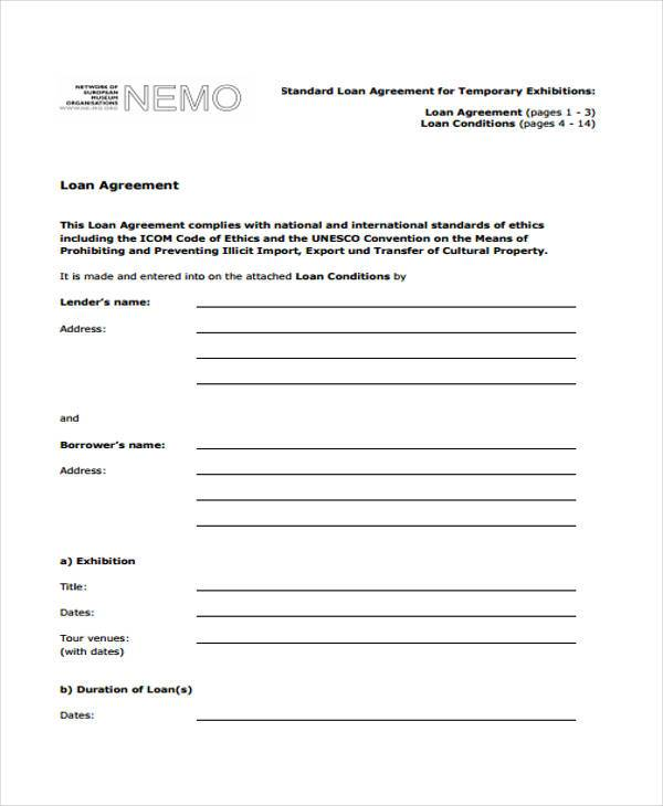 7+ Loan Contract Form Samples - Free Sample, Example Format Download