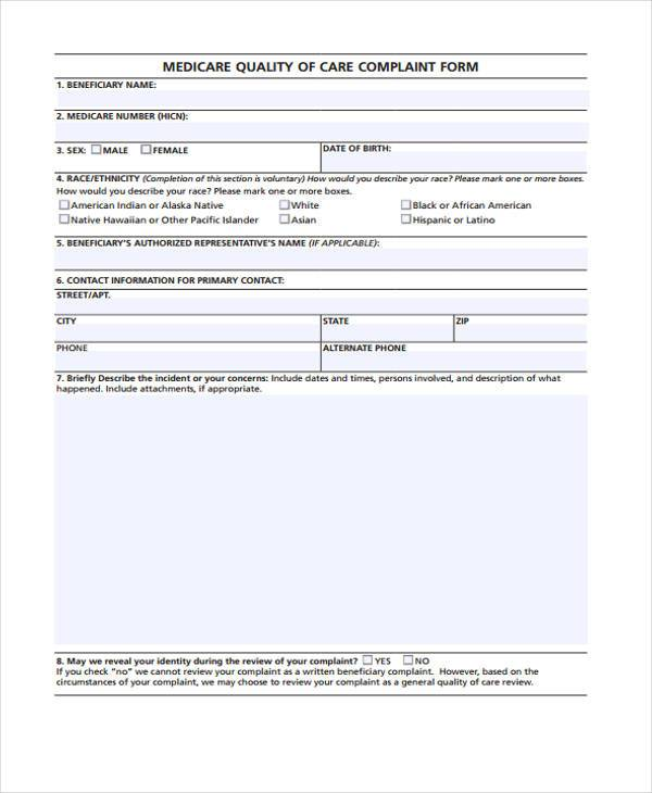 Medicare Form. We Offer The Latest Cms 1500 Claim Form (02-12