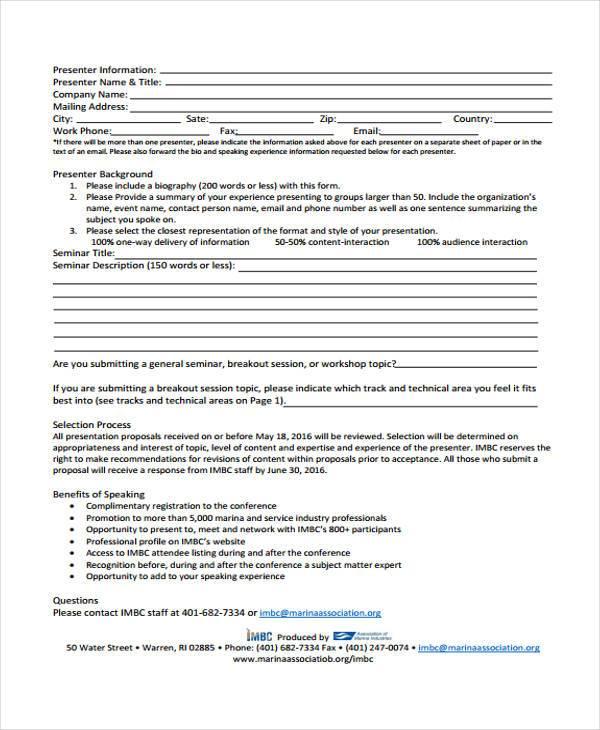 national seminar proposal form