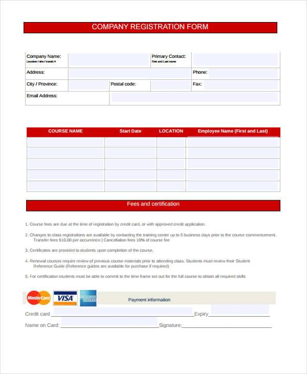 new company registration form1