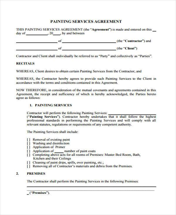 7+ Service Contract Agreement Form Samples - Free Sample, Example