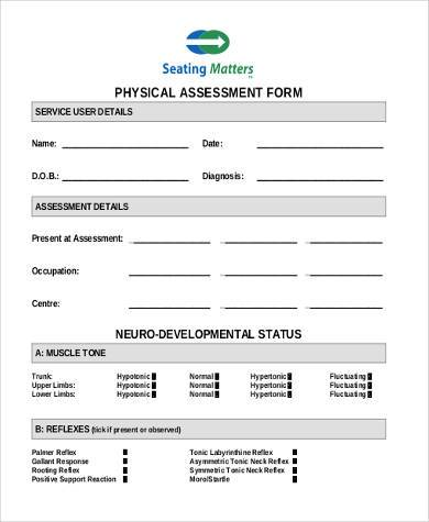 patient physical assessment form1