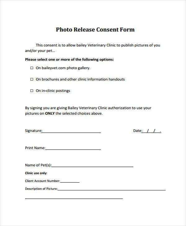 Free Consent Form Samples – Psychology Consent Form