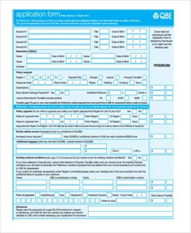 preliminary medical appraisal form