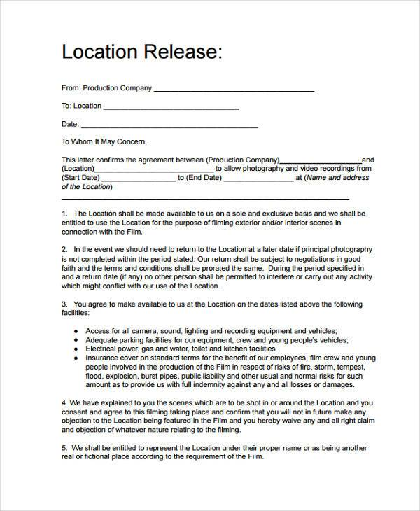 Printable Release Form Liability Release Waiver Form Free Printable