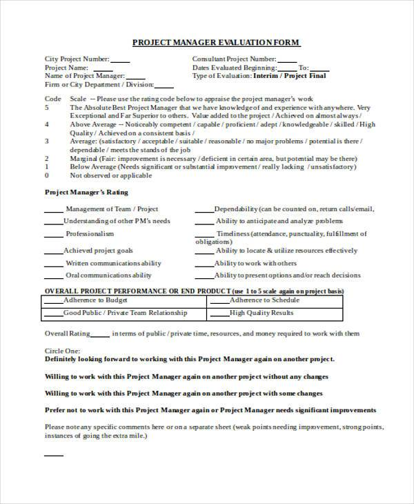 Product Evaluation Form Productevaluationform Product Evaluation