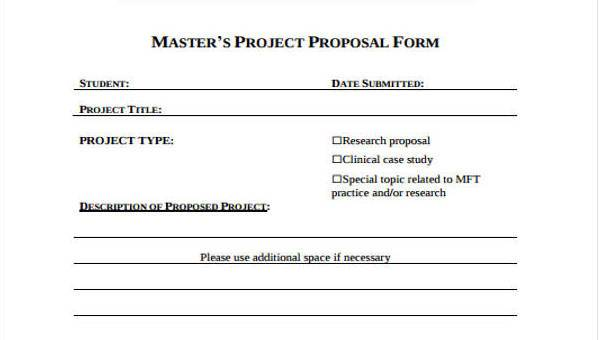 9 project proposal form samples free sample example format download 9 project proposal form samples maxwellsz