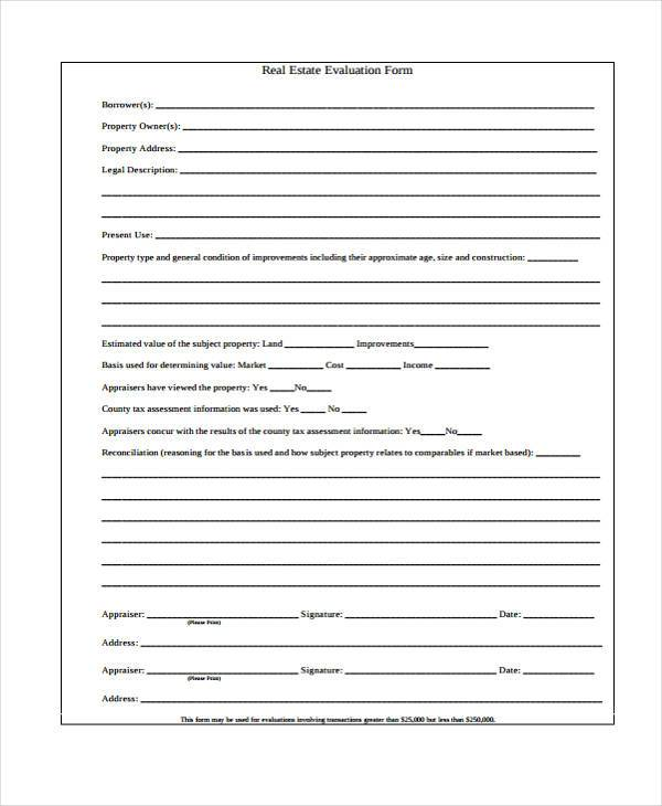 Free 7 Sample Home Evaluation Forms In Pdf Ms Word This free guide to assessment centres is an authoritative manual on how assessment. sample home evaluation forms in pdf