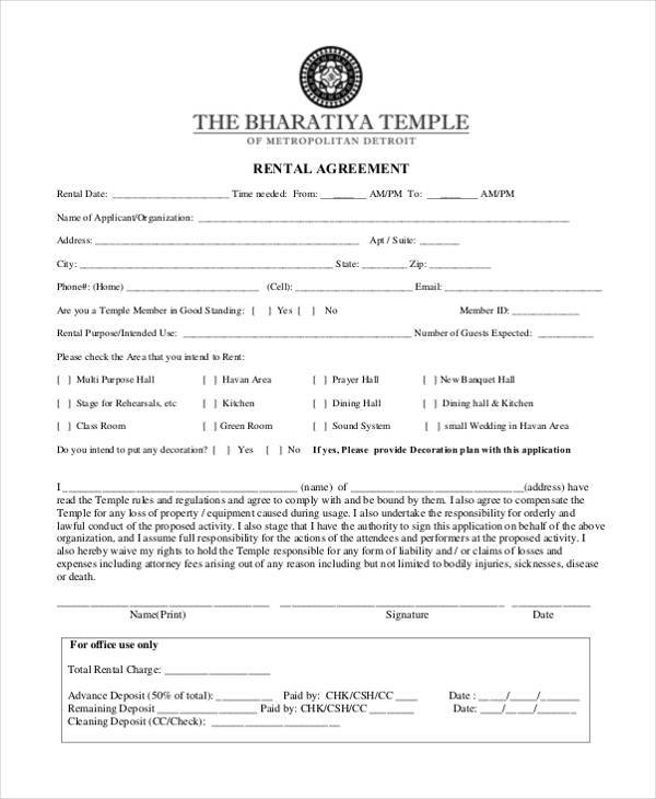 rental agreement form example1