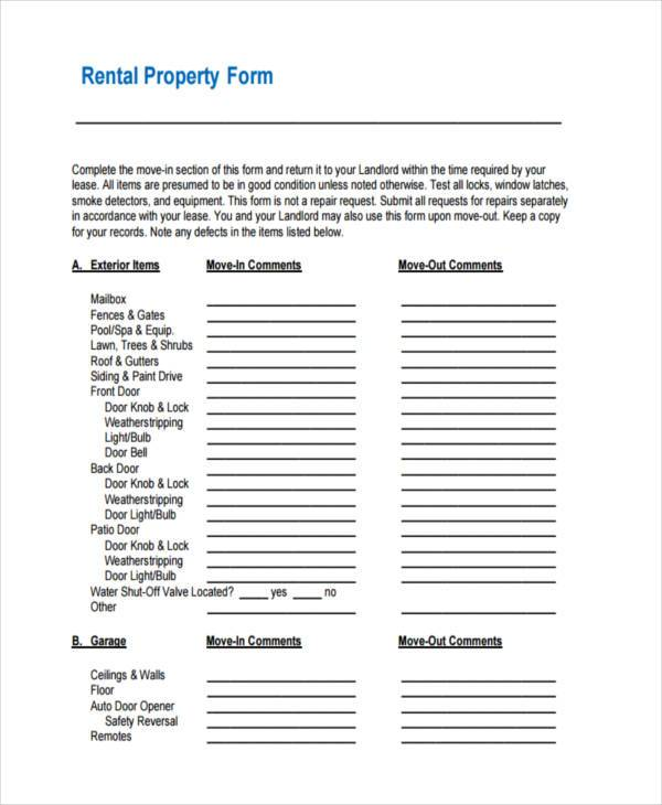 rental property evaluation form1