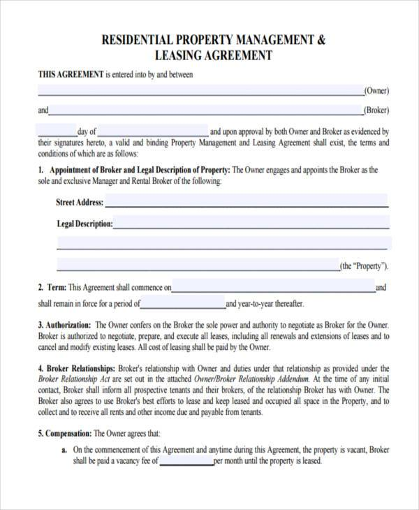 Management Agreements Cash Management Agreement Sample Cash