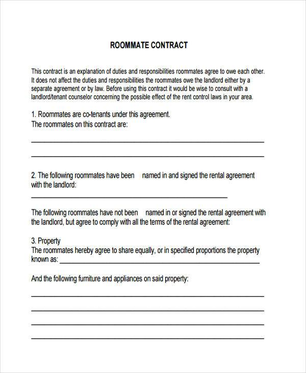 30 Contract Agreement Forms