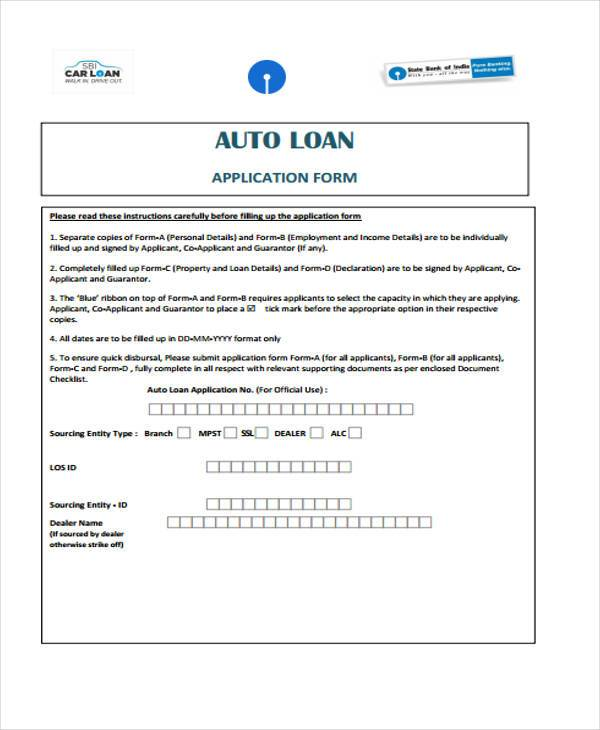 Loan Contract Form Samples  Free Sample Example Format Download