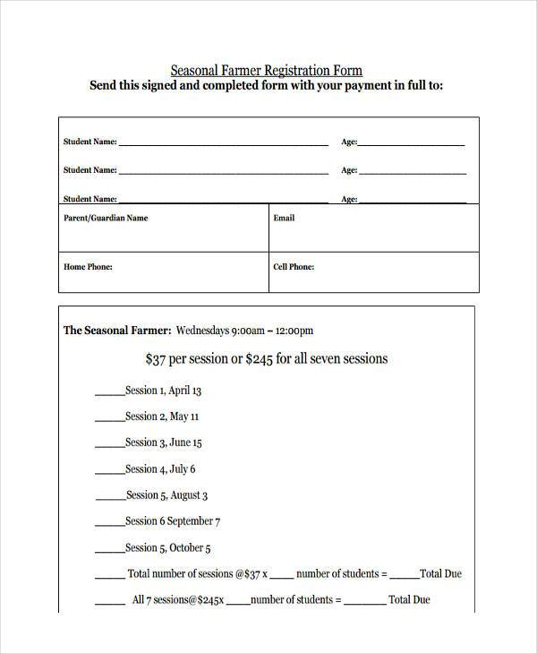 seasonal farmer registration form1