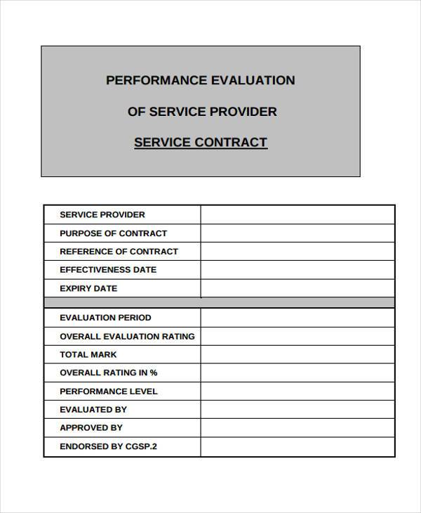 7+ Service Contract Form Samples - Free Sample, Example Format