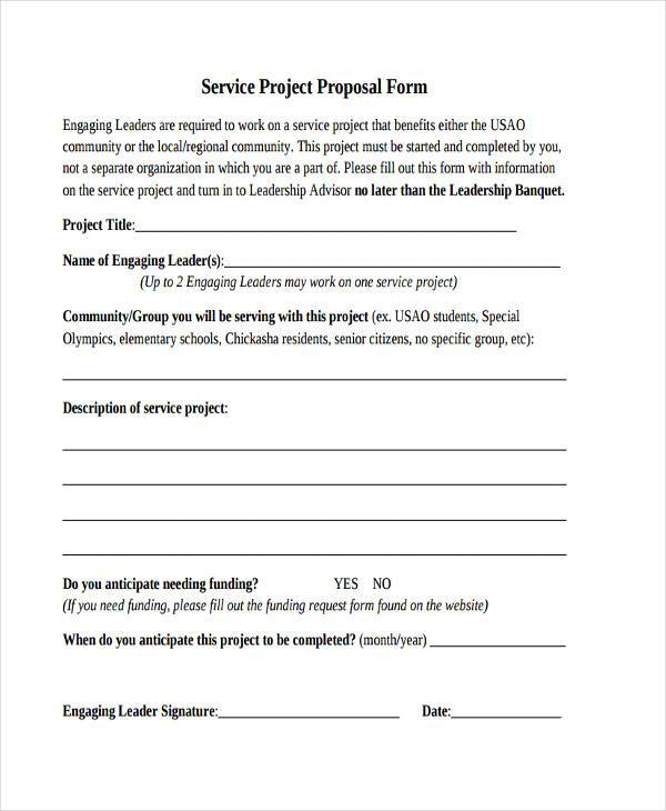 service project proposal form1
