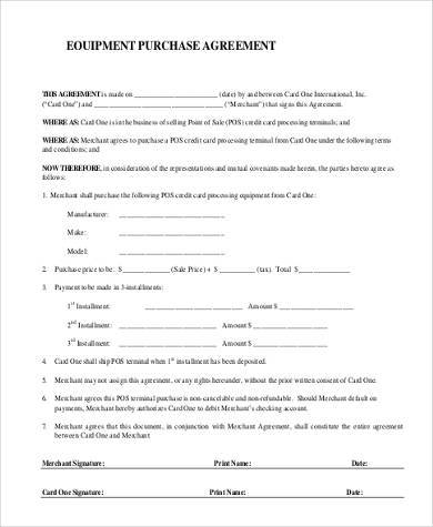Free 31 Simple Agreement Forms In Pdf Word