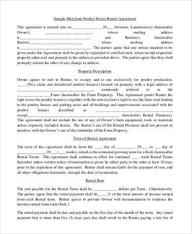 Basic Agreement Form Basic Rental Lease Agreement Form Printable