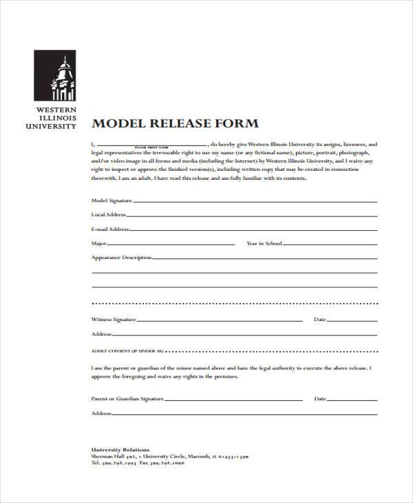 7+ Model Release Form Samples - Free Sample, Example Format Download