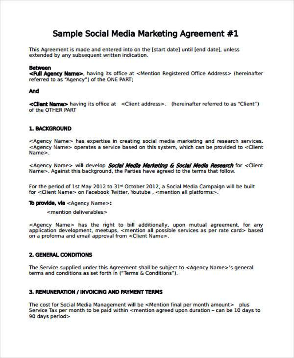 social media marketing proposal form1