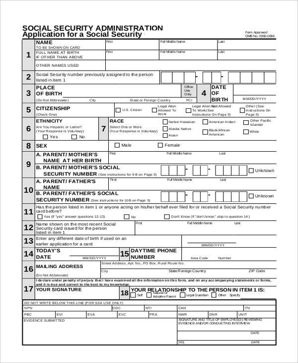 Sample Security Application Forms - 7+ Free Documents In Word, Pdf