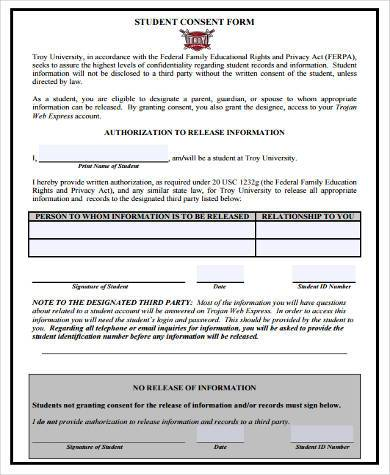 8+ Consent Form Samples - Free Sample, Example Format Download