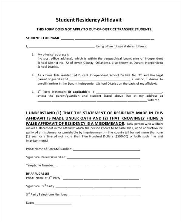 Affidavit Forms Canada Affidavit And Declaration Forms