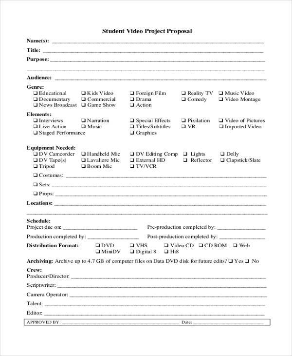 student video project proposal form1