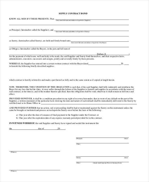 Surety agreement sample gallery agreement letter format for Suretyship agreement template