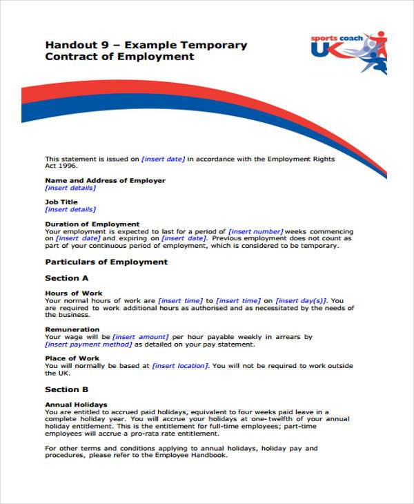 Employment Form Templates