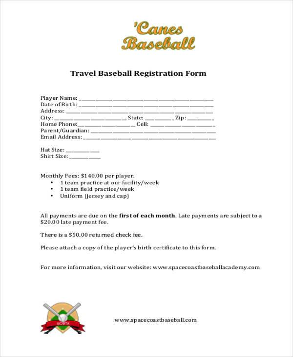 travel baseball registration form1