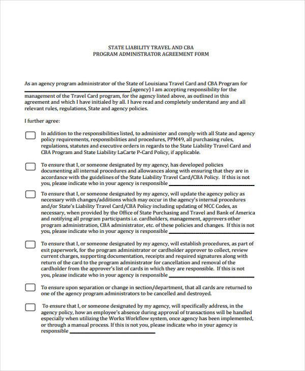 7+ Administration Agreement Form Samples - Free Sample, Example